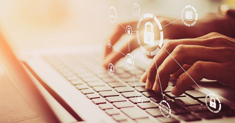 Imagem ilustrativa do artigo sobre Cibersegurança na logística